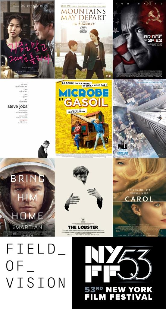 new york film festival 53rd movie posters