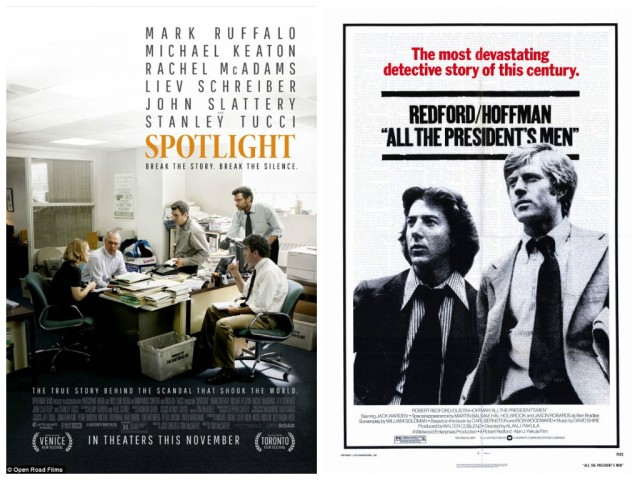 Spotlight All The Presidents Men